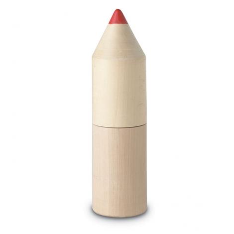 Tube bois de 12 crayons de couleur Coloret