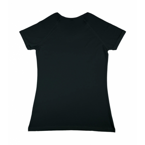 T-shirt Viscose Cotton Rolled Up Raglan Emily - 150 gr/m²