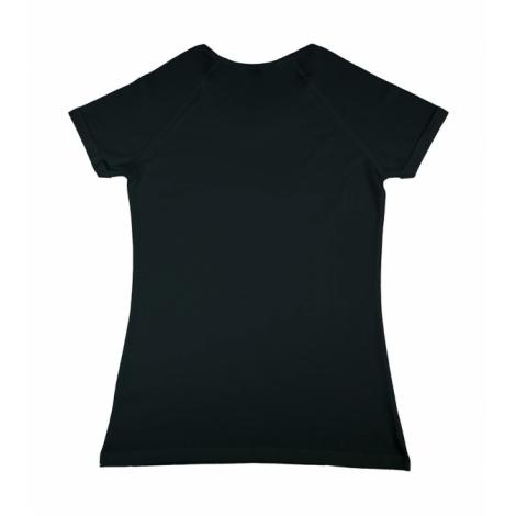 T-shirt femme publicitaire coton bio viscose 150 grs - Emily