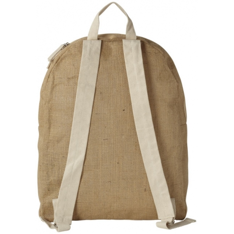 Sac à dos promotionnel - Jute, NATUREL