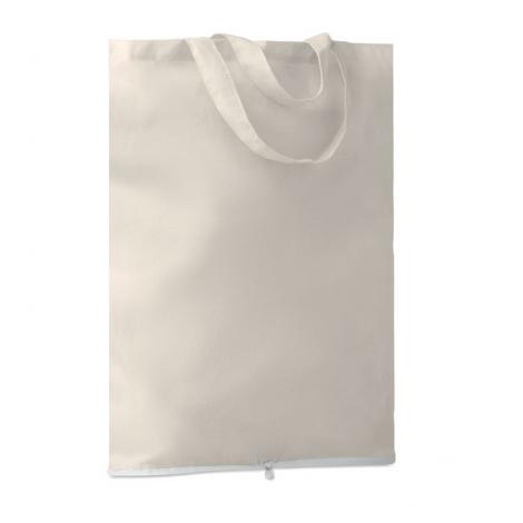 Sac shopping pliable personnalisé en coton 100 grs - FOLDY