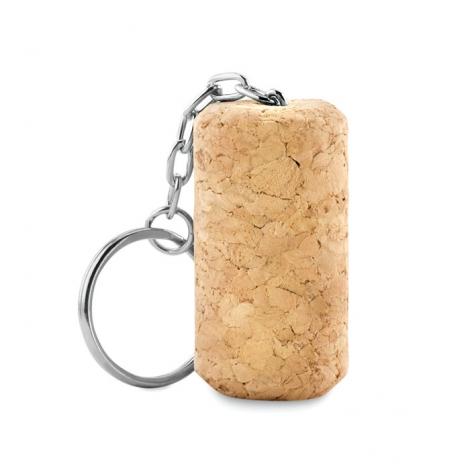 Porte-clés publicitaire en bouchon de liège - TAPON
