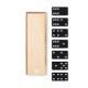 Boîte de Domino en bois personnalisée