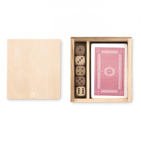 Boîte publicitaire de cartes à jouer - LAS VEGAS