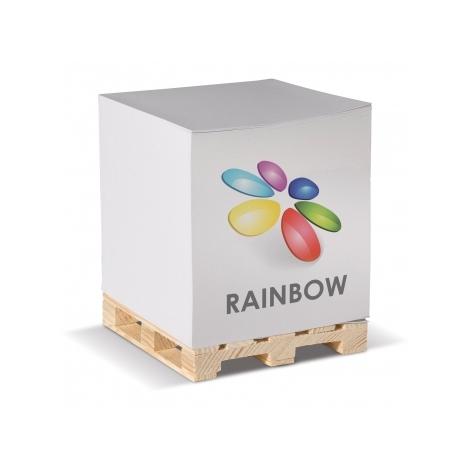 Cube palette promotionnel 840 feuilles - 10 x 10 cm