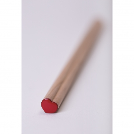 Crayon coeur prestige naturel sans vernis