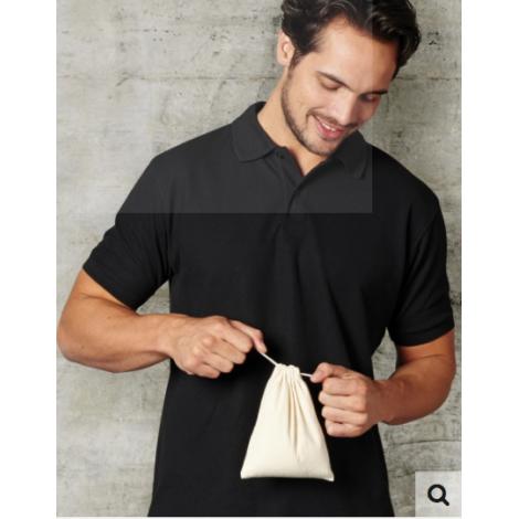 Pochon en coton Drawcord