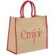 Grand sac shopping publicitaire - JUTE