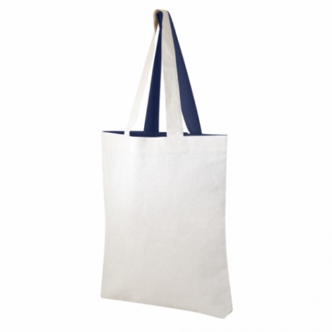 Tote bag bicolore personnalisable 180 gr/m²