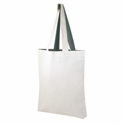 Tote bag bicolore personnalisable 180 gr/m² - Visversa