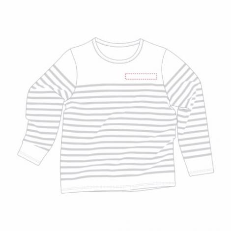 T-shirt marinière personnalisé homme - Mat'lo