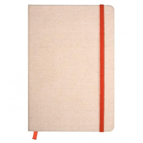 Cahier publicitaire en éco-tissu A5 - Fabric