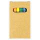 Set de cires de couleur publicitaire