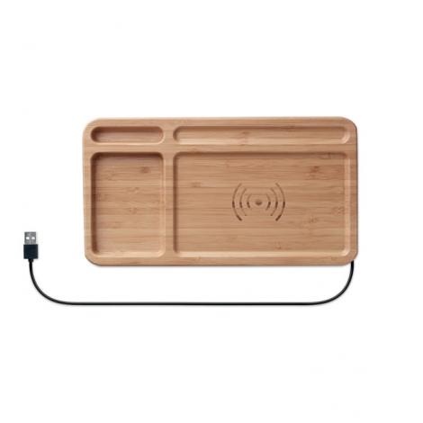 Chargeur à induction publicitaire - Cleandesk