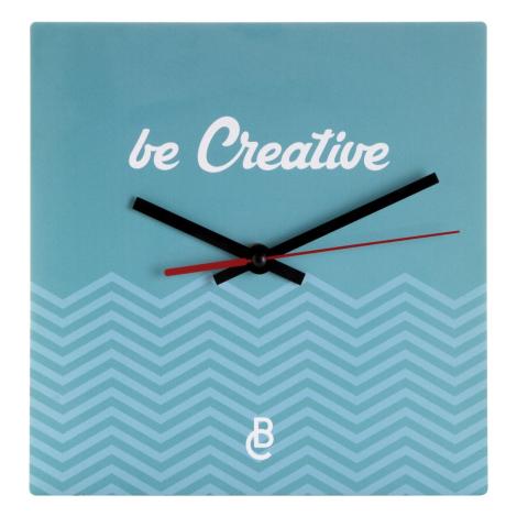 Pendulette murale publicitaire carrée - BETIME B