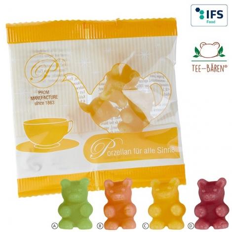 Bonbons publicitaire pour tisane - Ourson
