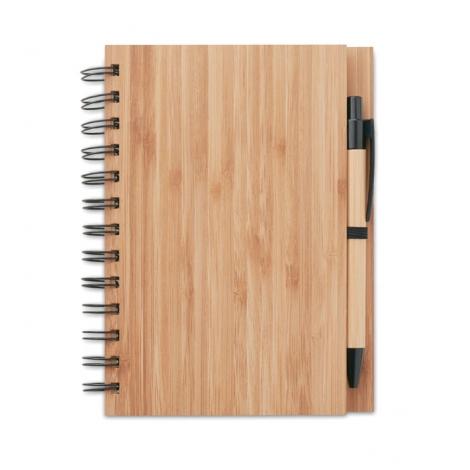 Carnet de note publicitaire bambou - Bambloc