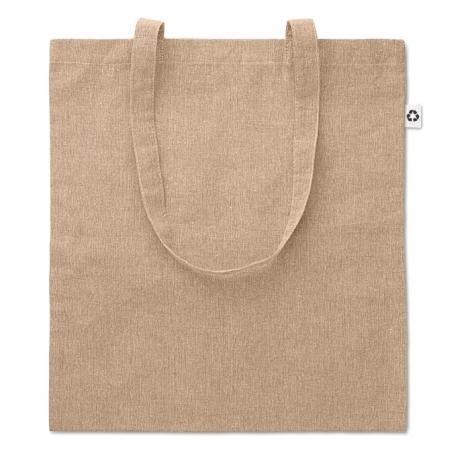 Sac shopping personnalisé en coton recyclé 140 g