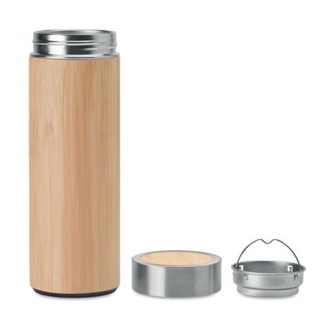 Bidon bambou infuseur personnalisable 400 ml - Batumi