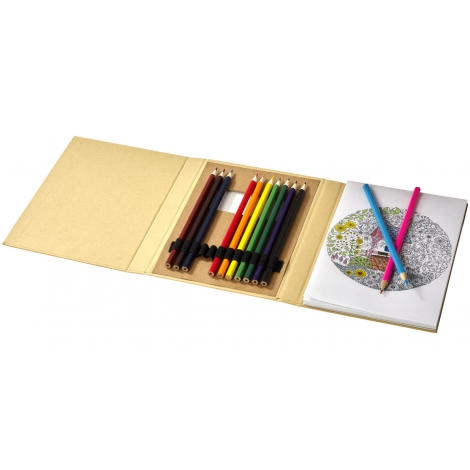 Set de coloriage publicitaire - PABLO