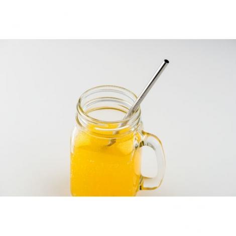 aille en acier publicitaire réutilisable - Cold Straw