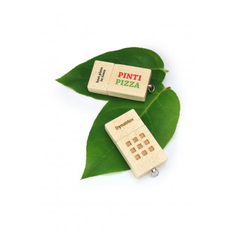 Clé USB personnalisable ECO WOOD