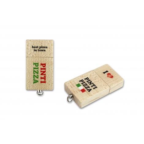 Clé USB personnalisable - ECO WOOD