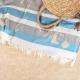 Fouta/serviette de plage publicitaire - Elmar