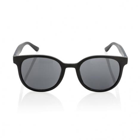 lunettes de soleil publicitaires en paille de blé