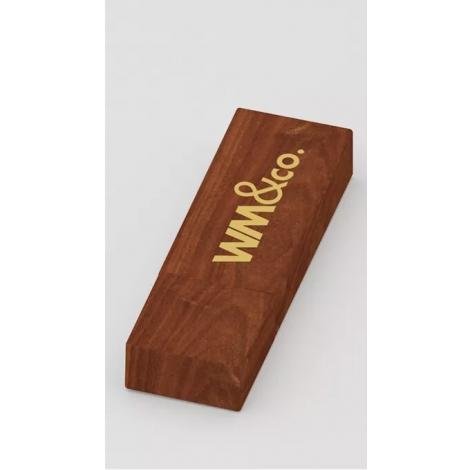 Clé USB en bois publicitaire - Tock