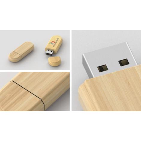 Clé USB Limb Bois personnalisable | Clé USB naturel