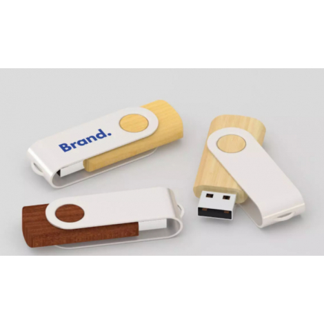Clé USB personnalisable - Twister Wood