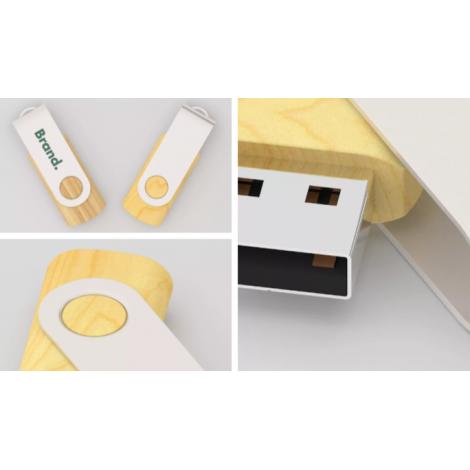 Clé USB Twister Wood