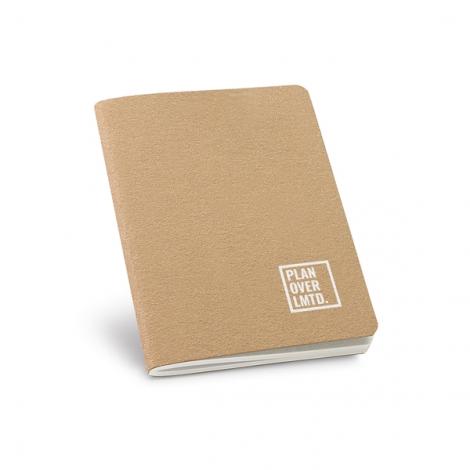 Cahier en carton recyclé personnalisé