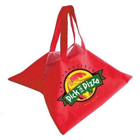 Sac publicitaire à pizza en coton 240 gr