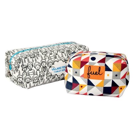 Trousse personnalisée coton sergé 420 gr - DIGITAL BAG