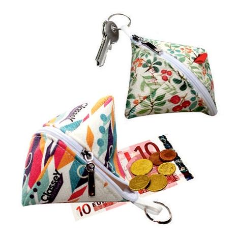 Porte monnaie publicitaire en coton sergé 420 gr - DIGITAL BAG