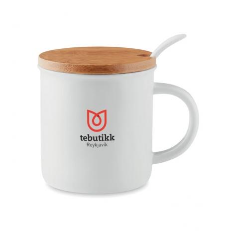 Mug publicitaire en porcelaine 380 ml - Kenya