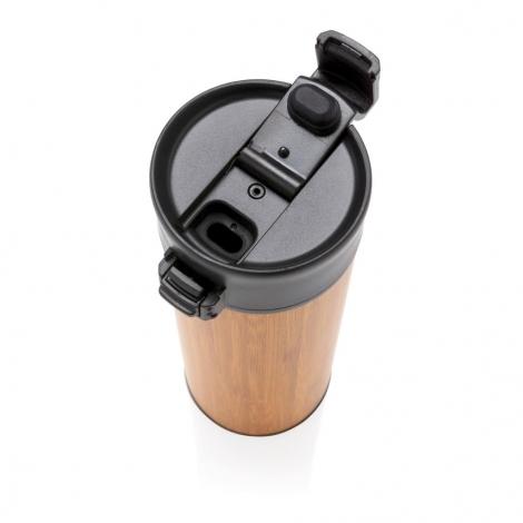 Mug publicitaire en bambou 450 ml - Bogota