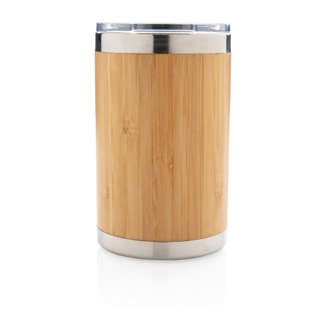 Tasse publicitaire en bambou 270 ml - Coffee to go