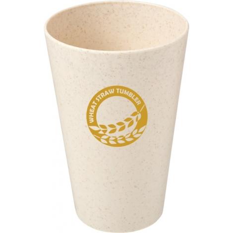 Gobelet promotionnel en paille de blé 430 ml - Gila