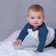 T-shirt bébé publicitaire bio 150 gr - Superstar Baseball T