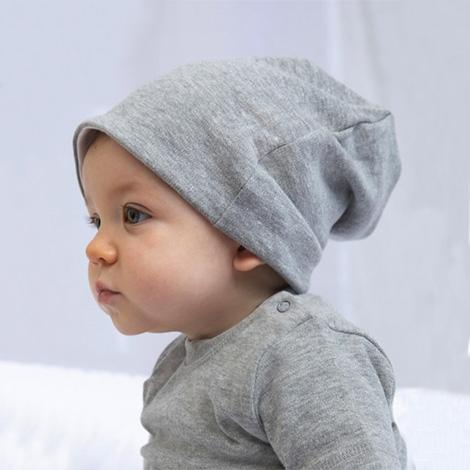 Bonnet bébé publicitaire réversible bio 200 gr