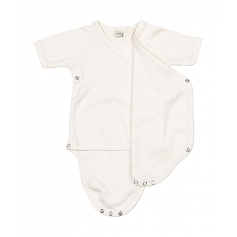 Body Kimono bébé publicitaire coton bio 200 grs