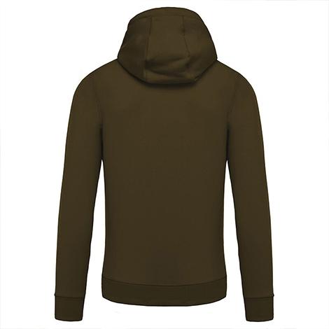 Sweat-shirt à capuche publicitaire Homme BIO 300 grs
