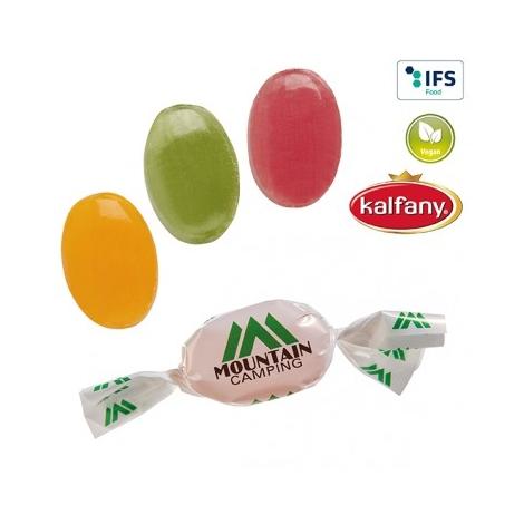 Bonbons en papillote publicitaire
