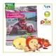 Mélange PAX publicitaire de fruits ou légumes séchés