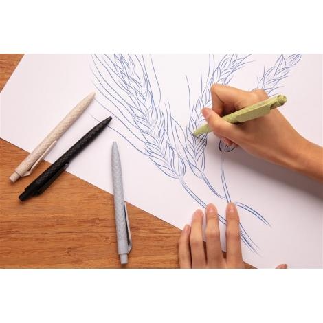 Stylo publicitaire design en fibre de paille blé