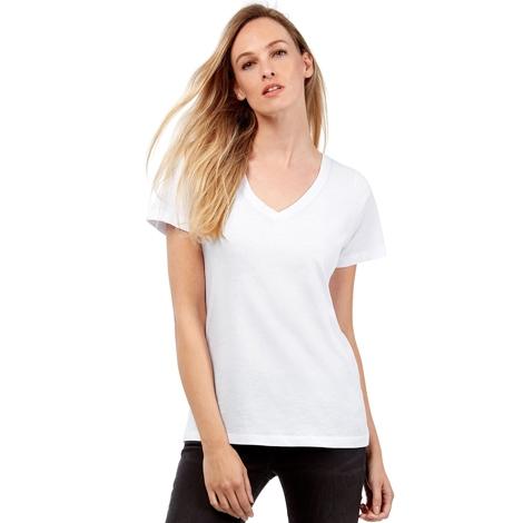 T-shirt femme publicitaire coton bio 140 gr - Inspire V