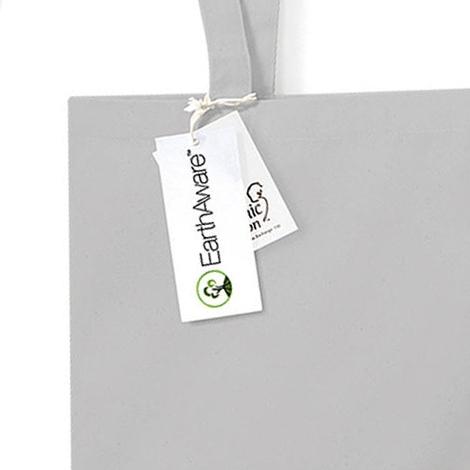 Sac shopping publicitaire en coton bio - 340 gr/m²